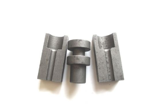 Die set for Citroen pipe flaring tool, 6.35mm